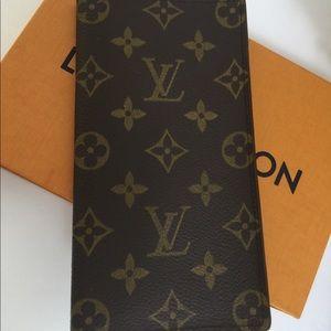 Louis Vuitton porte yen cartes long bifold wallet